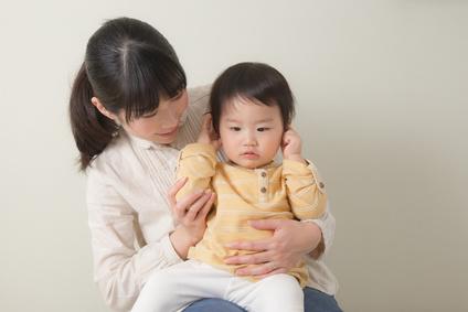 子供の滲出性中耳炎