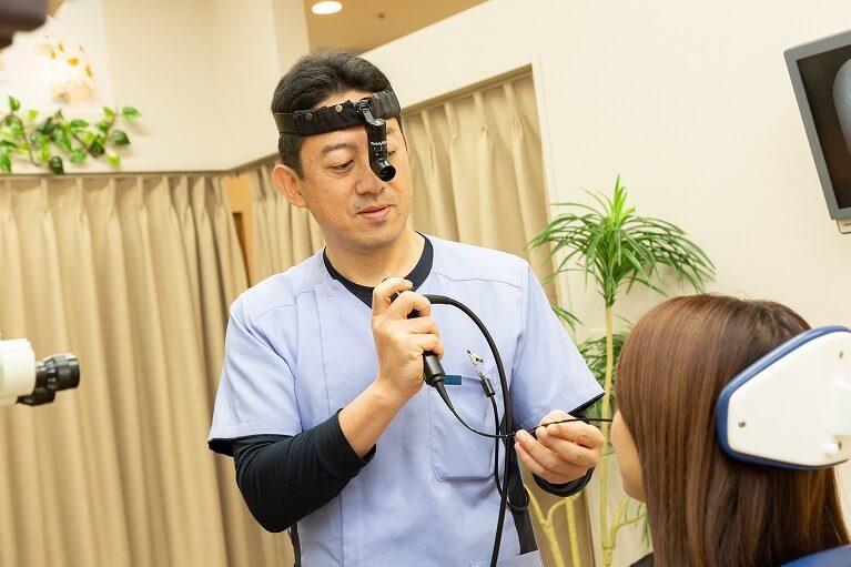 的確な診断により、短期間で治療を完結する