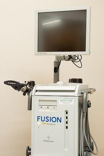 副鼻腔炎の手術で使用するナビゲーションシステム