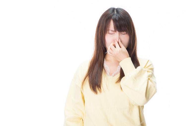 鼻汁が原因で鼻が臭い??