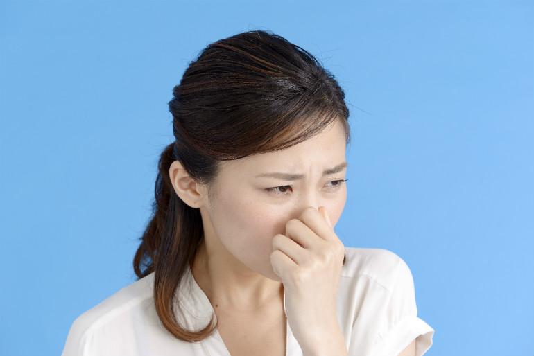 慢性副鼻腔炎(蓄膿症)で鼻が臭い