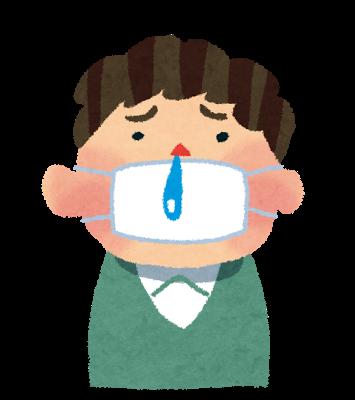 鼻水の色とその特徴