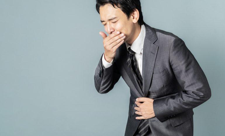 鼻水が喉に落ちる、鼻水が喉につまることによる逆流性食道炎