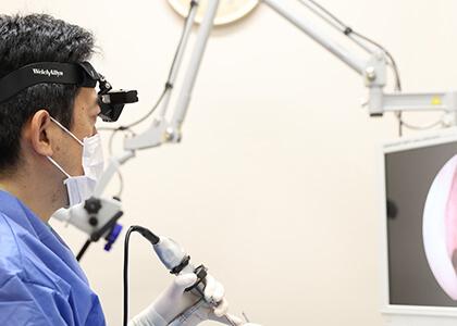 全国の耳鼻科でも数少ない「内視鏡下での日帰り手術」