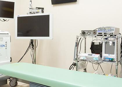 高性能医療機器を完備